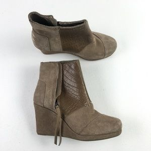 Toms Desert Taupe Shoes H7514971